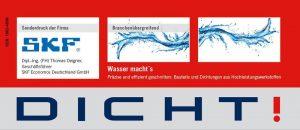 Wasser macht´s Präzise und effizient geschnitten: Bauteile und Dichtungen aus Hochleistungswerkstoffen